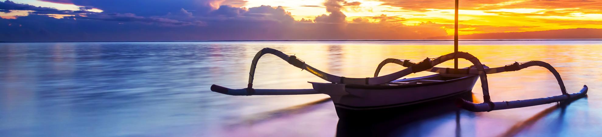 Aller à Bali en bateau