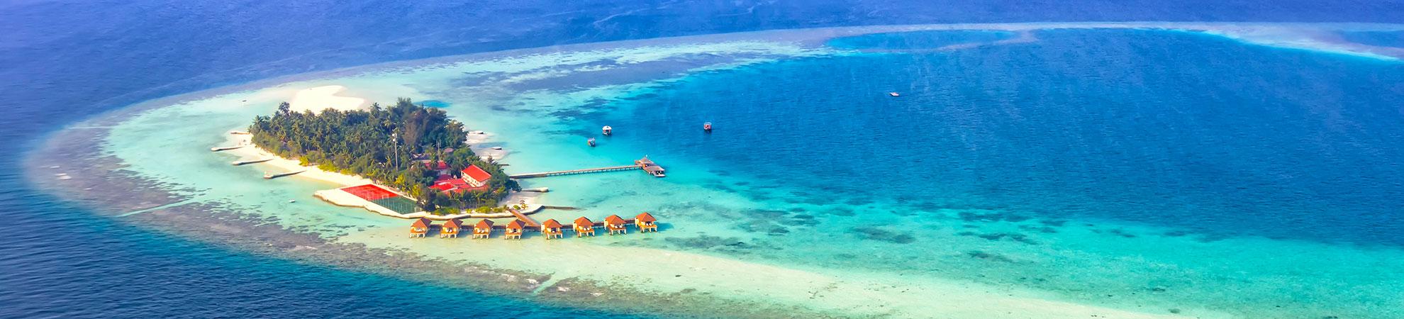 Circuit aux Maldives
