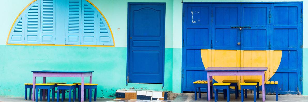 Déjeuner chez l'habitant sur l'ile de Fogo
