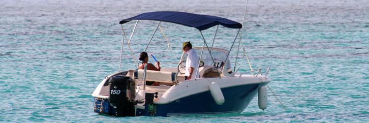 Tour du lagon en bateau avec pique-nique sur un motu