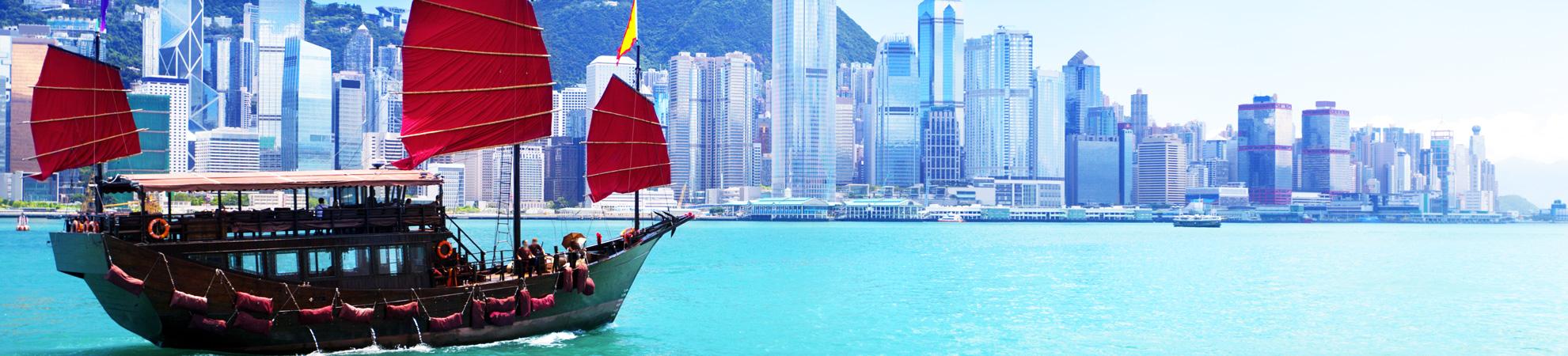 Comment aller en Chine en bateau ?