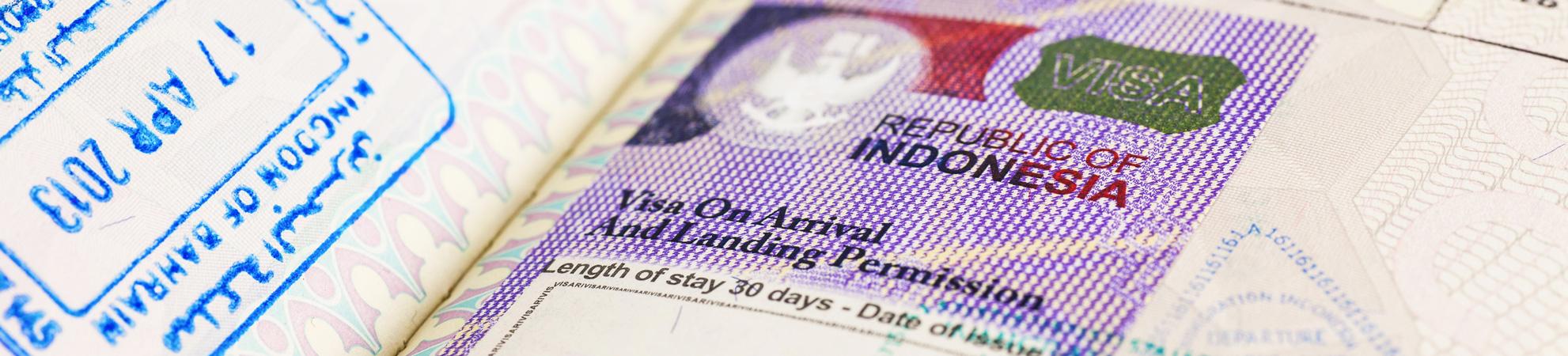 Quelles sont les formalités pour obtenir un visa pour un circuit en Indonésie