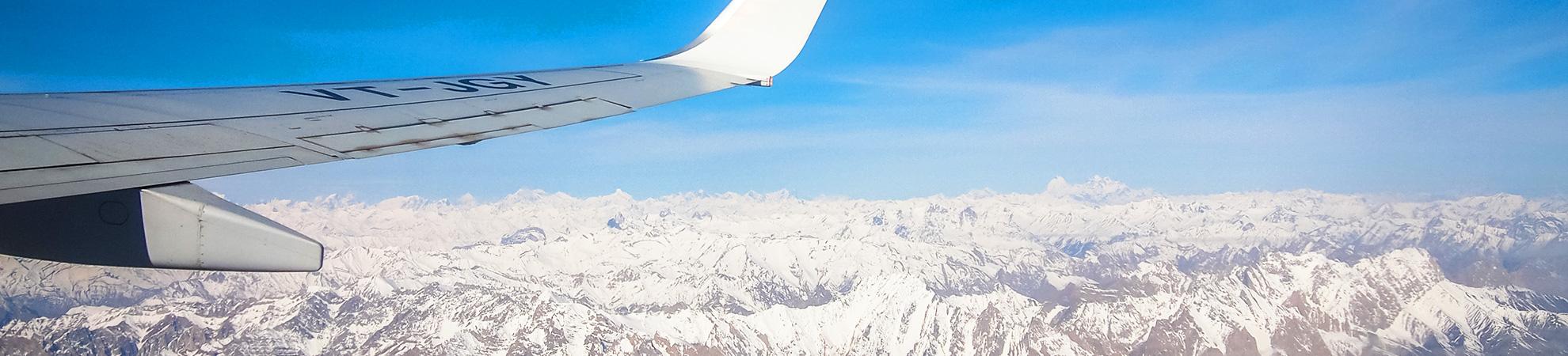 Aller en Inde en avion