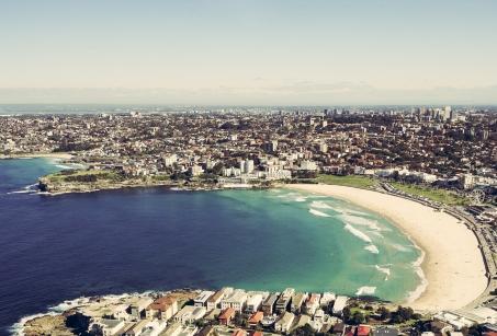 L'Australie, vue du ciel