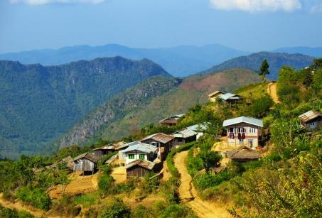 Randonnée en pays Shan