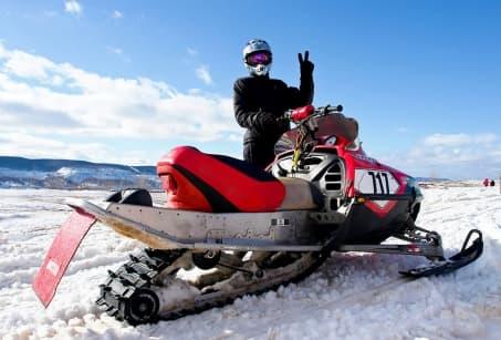 Le Québec en motoneige