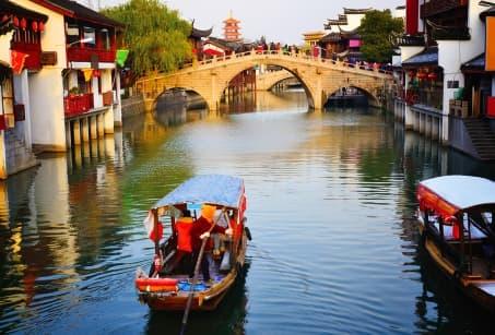 Villes d'eau et jardins chinois