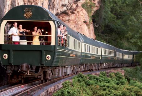 A bord du Venice Simplon Orient - Express