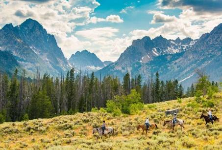 Parcs et Ranch dans l'Ouest Américain