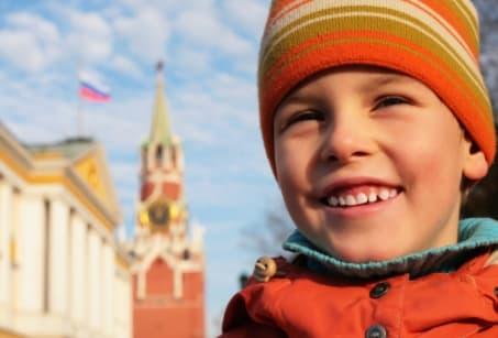 Ma famille en Russie