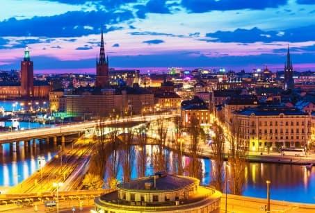 Stockholm, les pieds dans l'eau