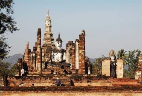 Sur la route des temples khmers