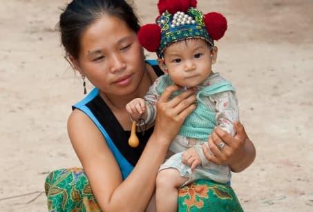 Nord du Laos : Balade de rizières en villages