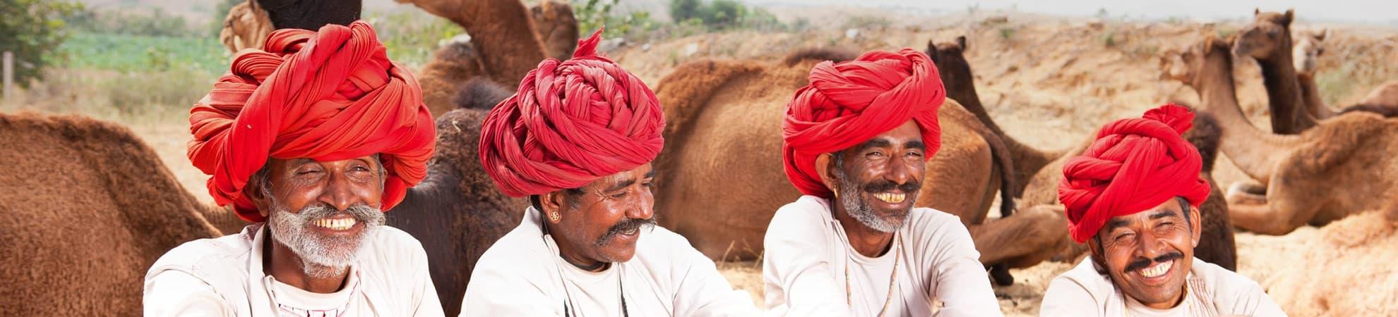 Voyager en groupe en Inde