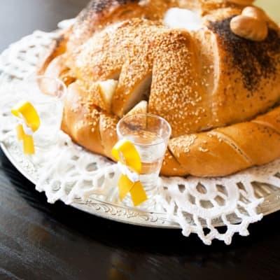 Cérémonie du pain et du sel à Moscou