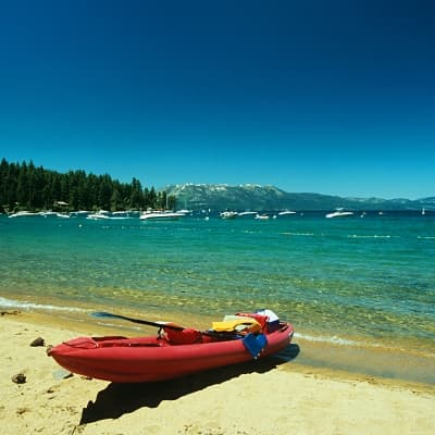 Faire du Kayak sur le Lake Tahoe Area