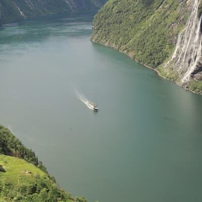 Le Geirangerfjord en zodiac !