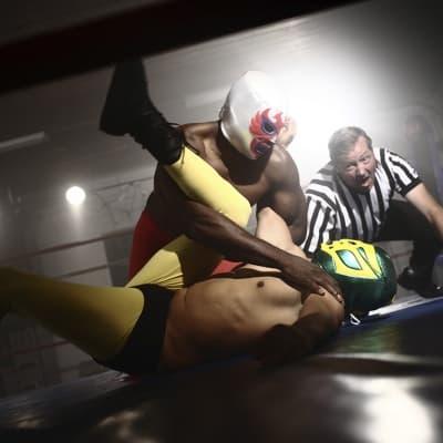 Spectacle de Lucha Libre à Mexico
