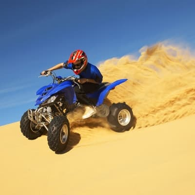 Une excursion en quad