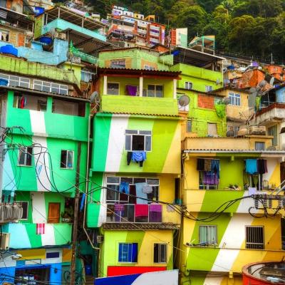 Les Favelas du Brésil
