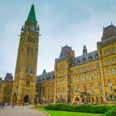 Visite guidée privée d'Ottawa à pied et en français