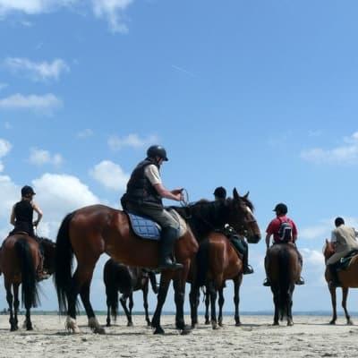 Balade à cheval au Cap Vert