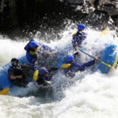 Rafting sur le Rio Mendoza