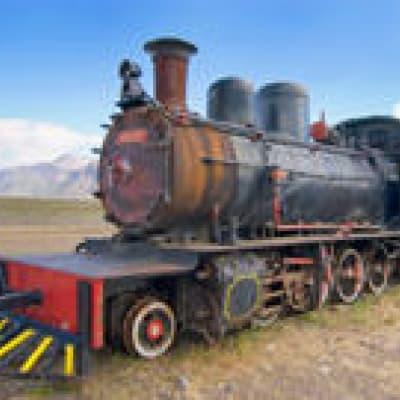 Train à vapeur en Patagonie
