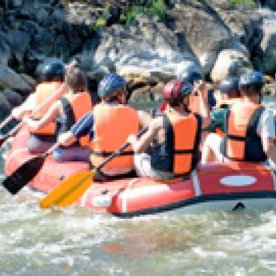 Rafting sur l'Indus