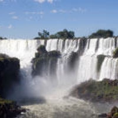 Les chutes du coté brésilien