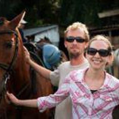 Balade à cheval dans la région de Bijagua
