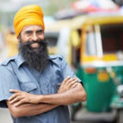Course en auto-rickshaw