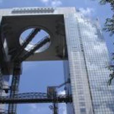 Umeda Sky Building observatory in Osaka