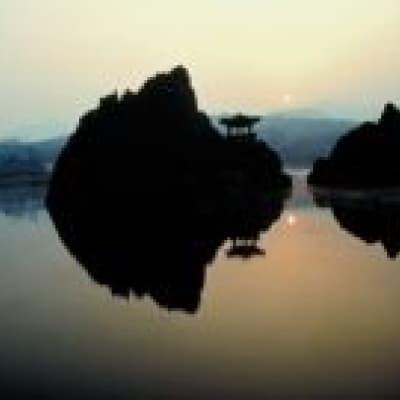 Balade en bateau sur le lac de Chungju