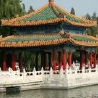 Promenade en barque au Palais d'été