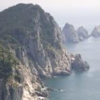 Promenade en bateau à Ulleungdo