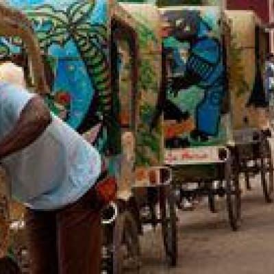 Visite de Tamatave en pousse-pousse