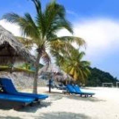 Boat trip to Pulau Dayang Bunting Island