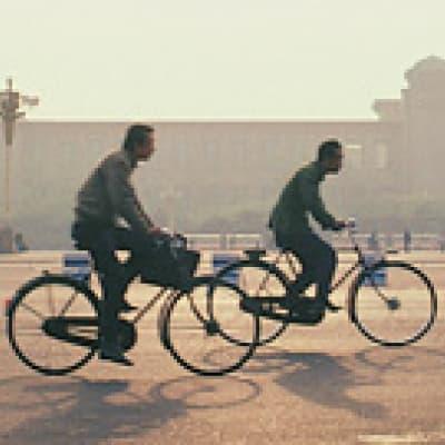 Balade à vélo autour du Lac Houhai - Pékin