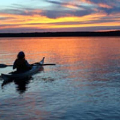 Kayak sur le lac Arenal