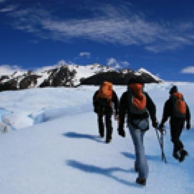 Mini-trekking sur les glaciers de Patagonie