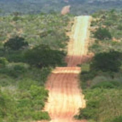 Entrée au Parc National du Cap de Bonne Espérance