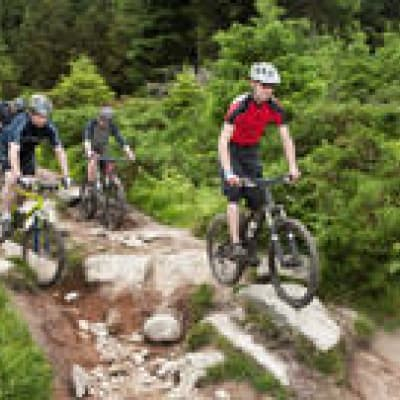 Balade à vélo sur la Route des Cascades