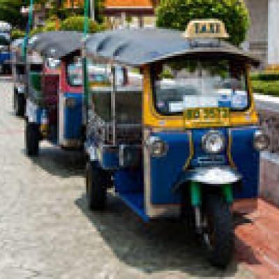 Ayutthaya en Tuk Tuk