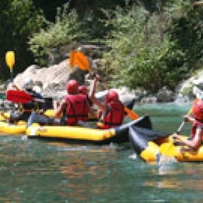 Faire du Rafting sur snake river