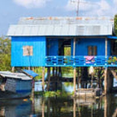 Visite du village de Kompong Phluk sur le lac Tonle Sap