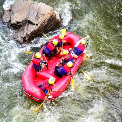 Rafting à Kitulgala