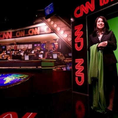 Visite des Studio CNN