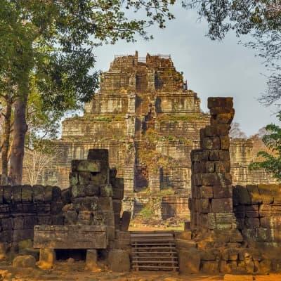Chasse aux trésors à Beng Mealea