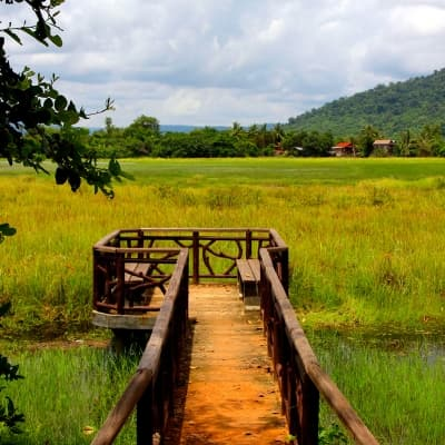 Le site naturel de Veal Ta Prak